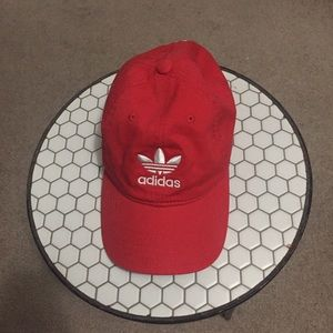 Adidas Red Baseball Cap